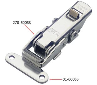 Junior ProLatch with Safety Catch Stainless Steel (Natural)